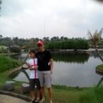 Denah lokasi floating market lembang bandung