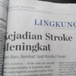Penderita penyakit stroke meningkat